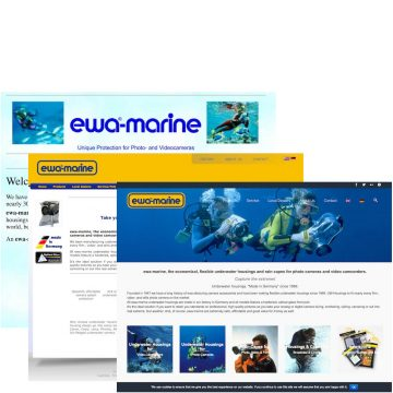 #Relaunch of the official, all new ewa-marine homepage